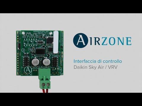 Interfaccia di comunicazione Airzone - Daikin Sky Air / VRV
