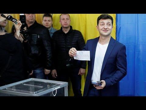 Ουκρανία: Άνοιξαν οι κάλπες για τον β' γύρο των προεδρικών εκλογών…