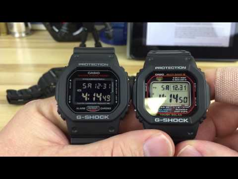 G-shock Square Options 5600 Series.