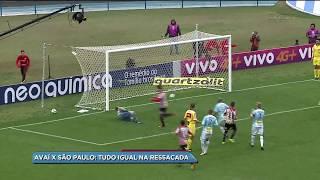Confira o comentário de Fábio Macho, sobre o empate do Avaí contra o São Paulo, na ultima rodada.
