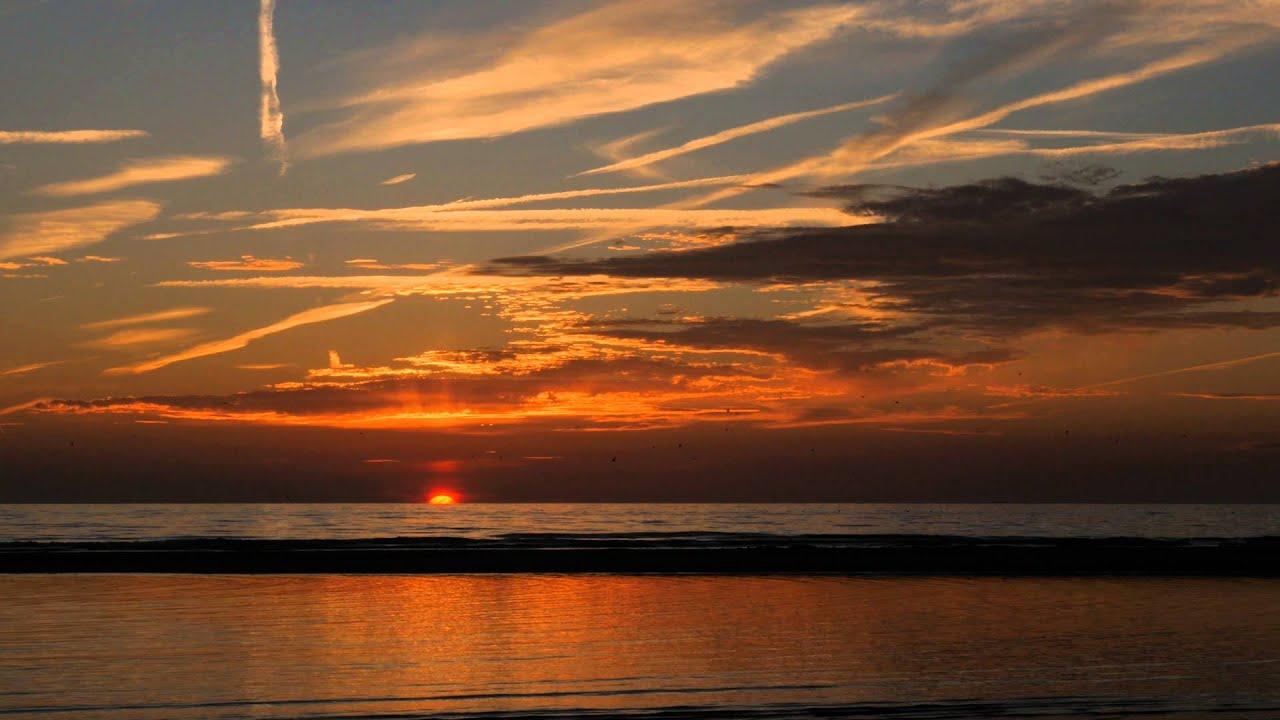 Katwijkse strand sunset