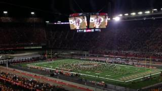 Bristol (TN) United States  city photos : Battle at Bristol Tennessee Pride of the Southland Marching Band halftime show Lee Greenwood
