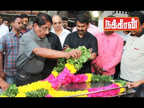 Last-respect-to-naam-tamilar-cadre-vignesh--Cauvery-Dispute
