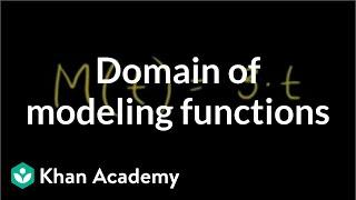 Domain and Range 1