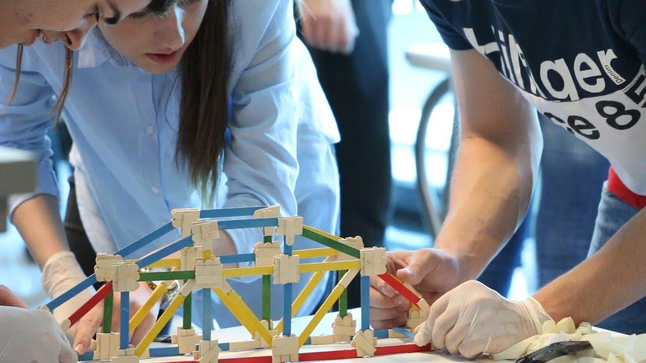 Na Građevinskom fakultetu održano natjecanje u modeliranju mostova