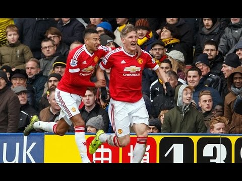 Watford vs  Manchester United  2-1 All goals & Highlights (Premier League 2015) HD