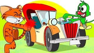 """"""" Eski Araba """" Kedi & Papağancık'tan çocuklar için komik ve macera dolu bir çizgi film bölüm. Kedi ve Papağancık eski arabanın tamiriyle ilgili yapmaları gereken hiç bir şeyle uğraşmazlar. E peki şimdi bu eski arabaya ne olacak?Chotoonz TV Türkçe #ÇizgiFilm - Çocuk Çizgi Filmleri - YouTube Kanalına hoş geldin! Abone ol ve yepyeni komik bölümleri buradan izle : https://www.youtube.com/channel/UCCm7h1oHcifE3QZNjLp_hxAHer cuma Ta-ta-ta-taaam'ın neşeli ve komik yeni bir bölümü yayında : https://www.youtube.com/playlist?list=PLaB3ojU7SG42_NjCx9oJusrxGg2vYEasAHer cumartesi yepyeni bir Kedi & Papağancık bölümü yayında : https://www.youtube.com/playlist?list=PLaB3ojU7SG41uRop4uJ0lq5MYcretWzV9"""