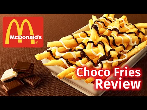 MCDONALD'S JAPAN | CHOCOLATE FRIES REVIEW
