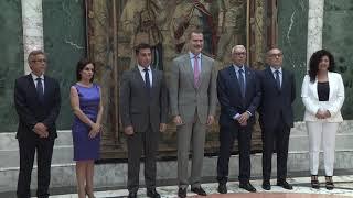 S.M. el Rey recibe en audiencia a una representación del Ilustre Colegio de Abogados de Tarragona