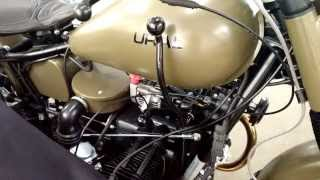 3. 2013 Ural Retro M70 Custom, Pre-delivery video at Ural of New England