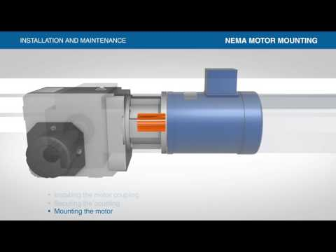 Installation and Maintenance Series: Mounting Gearbox to NEMA Motor