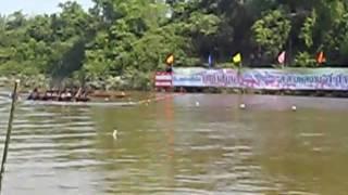 Muang Phon Thailand  City new picture : Boat Race Phon Muang Lao Sua Kok Ubon Ratchathani Thailand