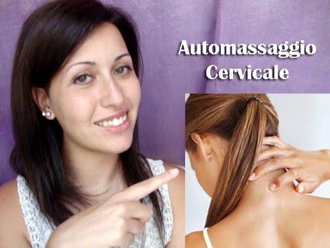 auto massaggio per la cervicale