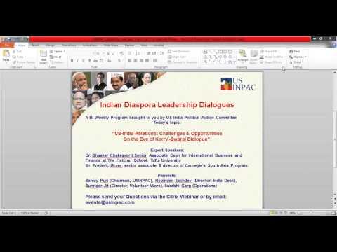 USINPAC Leadership Dialogue Session 17