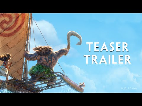 Disney s Moana Official Teaser Trailer