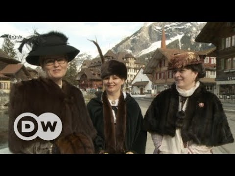 Die Auferstehung der Belle Époque in Kandersteg | DW  ...