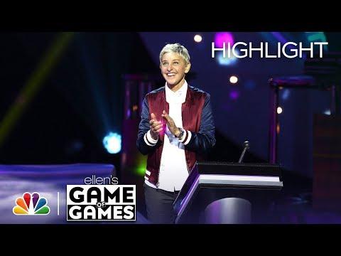 Ellen's Game of Games - Don't Leave Me Hanging: Episode 3 (Highlight)