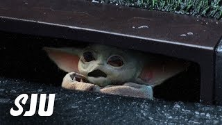 Mandalorian's Baby Yoda Was Almost a Terrible Nightmare | SJU by Clevver Movies