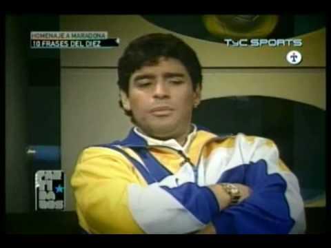 Maradona y sus frases celebres