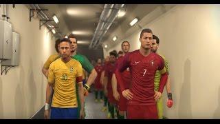 Video PORTUGAL vs BRASIL EPIC CUP FINAL MATCH PES 2017 GAMEPLAY HD MP3, 3GP, MP4, WEBM, AVI, FLV Oktober 2017