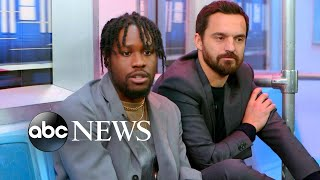 Jake Johnson and Shameik Moore dish on 'Spider-Man: Into the Spider-Verse'