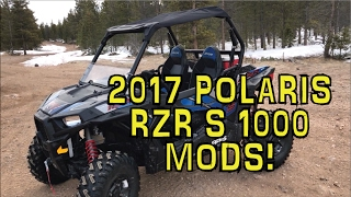 5. 2017 Polaris RZR S 1000 Modifications