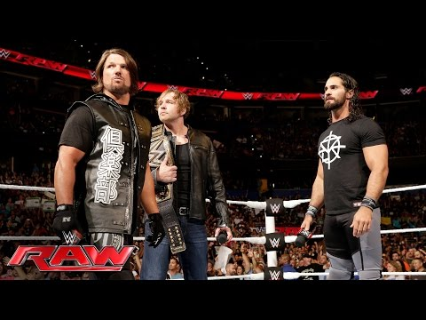 Seth Rollins And Dean Ambrose Address The Roman Reigns Controversy: Raw, June 27, 2016