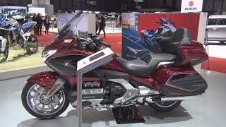4. Honda Gold Wing GL1800DA DCT & Airbag (2018) Exterior and Interior
