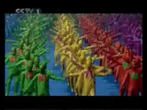 Ceremonia de Inauguración Olimpiadas Beijing 2008