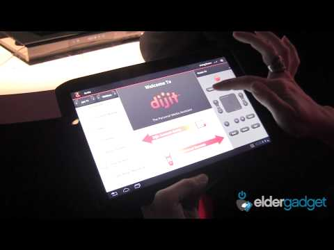 CES 2012 Video: Motorola Zyboard Android Tablet