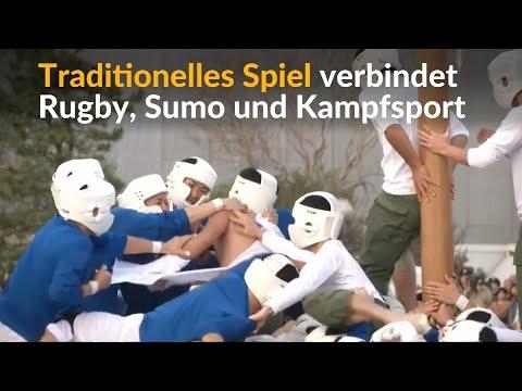 Japan: Botaoshi - Kampfsport, der drei bekannte Sportarten vereint