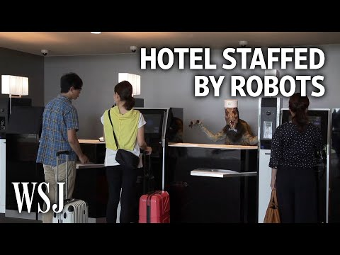 В Японии заработал отель с роботами-прислугами