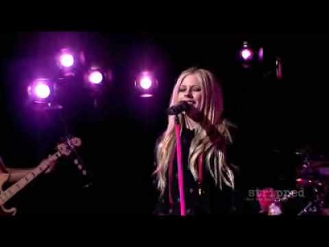 Avril Lavigne - When you're gone (live) + tłumaczenie