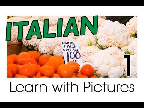 Gemüse - Italienische Vokabeln