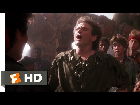 Hook (4/8) Movie CLIP - Peter Becomes Pan (1991) HD