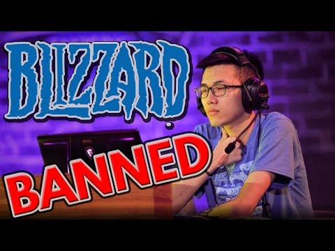 Blizzard BANS Blitzchung For Speaking Out About Hong Kong Protests