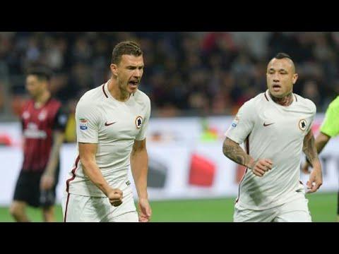 Ac Milan vs Roma 0-2 All Goals & Highlights Serie A