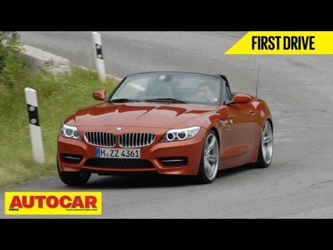 2013 BMW Z4 Convertible | First Drive Review | Autocar India