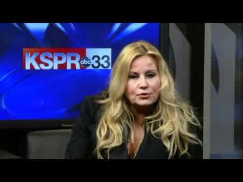 Jennifer Coolidge Stifler's Mom on KSPR News at 4