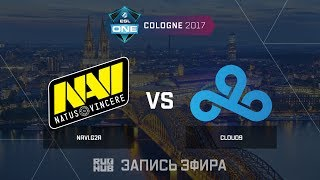 Navi.G2A vs Cloud9 - ESL One Cologne 2017 - de_train [yXo, Enkanis]