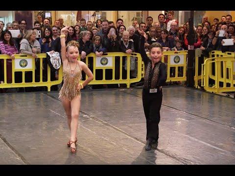 Näillä nuorilla tanssijoilla on melkoiset muuvit!