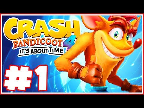 Crash Bandicoot 4: It's About Time - Part 1 - Crash is Back! Rude Awakening!