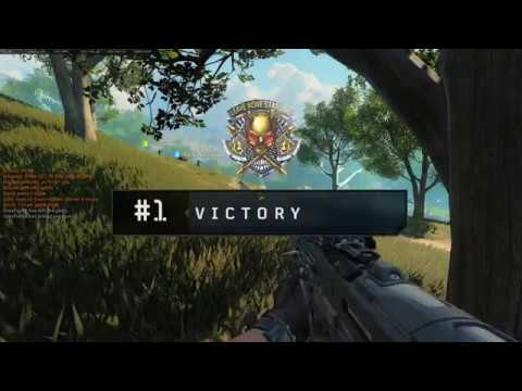 CoD Blackout - First Squad Win!