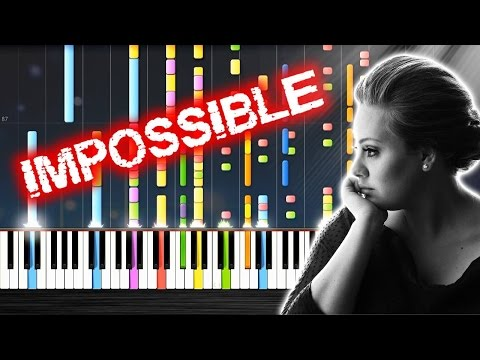 Adele - Someone Like You - IMPOSSIBLE Piano By PlutaX
