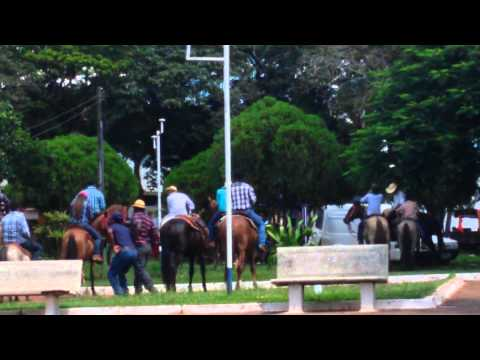 Cavalgada em Tarabai.