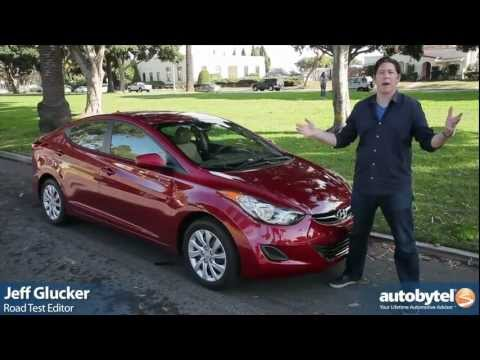 2012 Hyundai Elantra: Video Road Test and Review