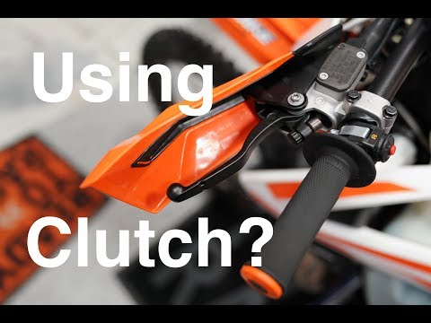 Using the Cluch to Shift your Dirt Bike??