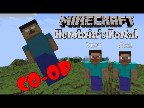 Minecraft Herobrine's Portal - Прохождение карты #1 [Херобрин?]