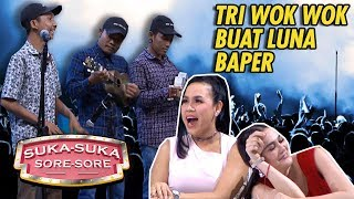 Video TRIO WOK WOK Tampil, Luna Maya Baper - Suka Suka Sore Sore (16/1) PART 2 MP3, 3GP, MP4, WEBM, AVI, FLV Maret 2019