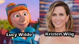 """The Voice Cast for Universal's & Illumination's """"Despicable Me 2"""" Do you recognize any voice actors? Where do your recognize them from? Who's your favorite character(s)? What's your favorite moment(s) In the film?For More Characters and Voice Actors - https://www.youtube.com/playlist?list=PLEX-pRIMnN4DcrKJhheGFbNko9FY8rjNY"""